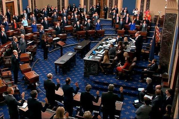 مجلس سنا طرح محاکمه ترامپ را پذیرفت